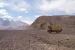 Tadschikistan Meteoriteneinschlag