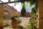 Innenhof auf Kreta