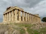 Tempelruine auf Sizilien