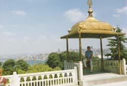 Ausblick auf das goldene Horn
