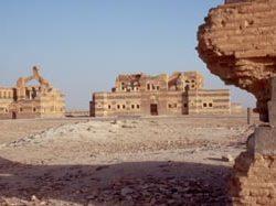 Das Wüstenschloss Qasr Ibn Wardan ...