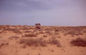 weiter ging es nur quer durch die Dünen