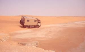 ...über die Dünen
