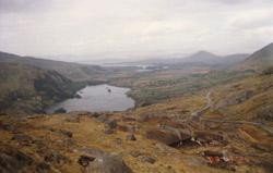 Gebirge von Kerry