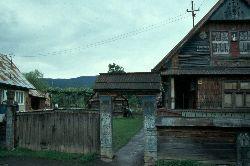 Hof in Sapanta an der ukrainischen Grenze