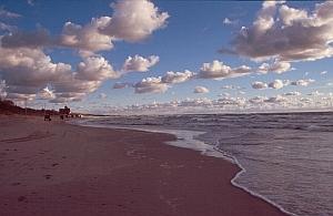 Am Strand vor Klaipeda (Memel)