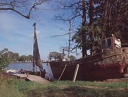 Alte Boote auf der Kurischen Nehrung