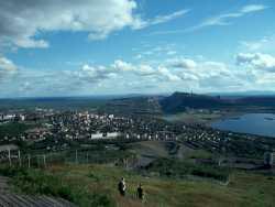 Auf dem Berg Luossavaara