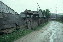 In Rozavlea ein typischer Bauernhof der Maramures