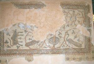 Sehr gut erhaltende Kirchen-Mosaiken aus dem 5. und 6. Jahrhundert
