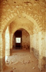 altes Fort und Schule in Al Jagbub