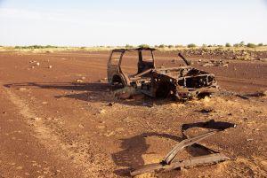"""Auch hier befinden sich """"Denkmäler"""" der Dakar"""