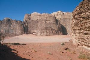 Waditypische vielfältige Felsformationen