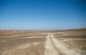 """Weiterfahrt durch die """"Schwarze Wüste"""""""