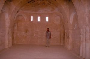 Ein gut erhaltener Innenraum