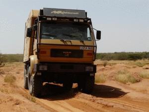 Weiter geht`s Richtung Léré (Mali)