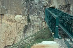 El Chorro - Hier begann der Caminito del Rey, der kleine Königsweg