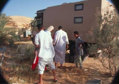 Brauchwasser auftanken in Al Fogatha