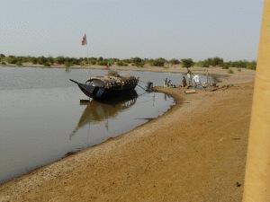 Erstbegegnung mit dem Niger