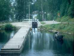 Der einzige Teerkanal der Welt - in Kajaani