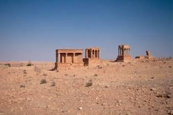 Die Mausoleen...