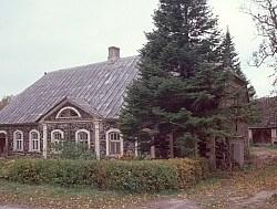Altes Haus in Estland