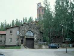 Das alte Bergwerk von Outokumpu