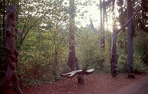Skulpturen im Nationalpark