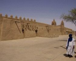Die große Djinger Ber Moschee...