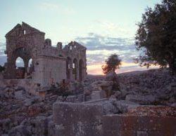In den Ruinen von Shams