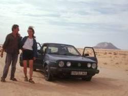 Kurze Stippvisite mit dem VW-Golf
