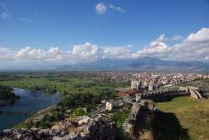 Ausblicke von der Festung Rozafa...