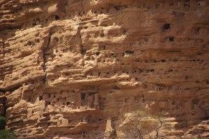 Falaise de Bandiagara - Wohnhöhlen der Tellern...
