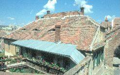 Blick über die untere Altstadt von Sibiu