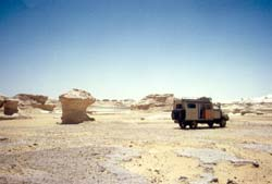 In der weißen Wüste
