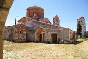 gut erhaltenen orthodoxen Kloster.