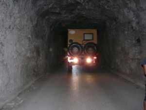 Der Tunnel von Vlora...
