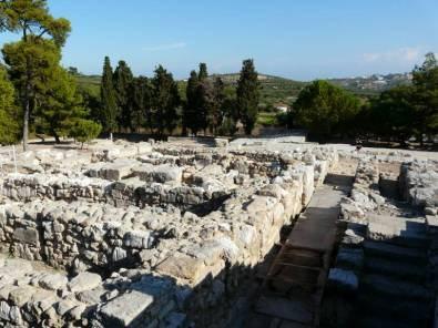 Knossos auf Kreta