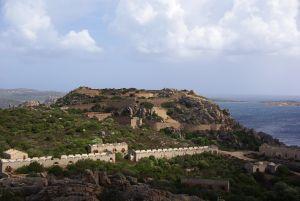 Umgebung und die Festungsanlage.