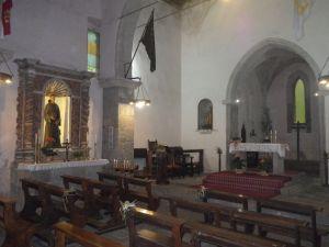 Überbleibsel eines großen Johanniter-Klosters.