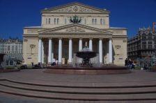 Das weltberühmte Bolschoj-Theater von 1776...