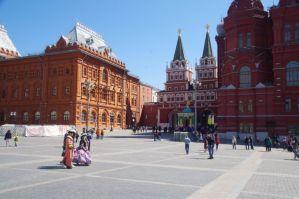 Das Auferstehungstor, der Haupteingang zum Roten Platz