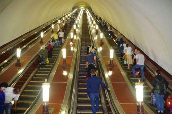 Ein Einstieg in Moskaus Untergrund