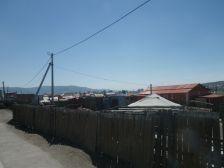 Typischer Vorort von Ulan Bator, der nördliche Bezirk