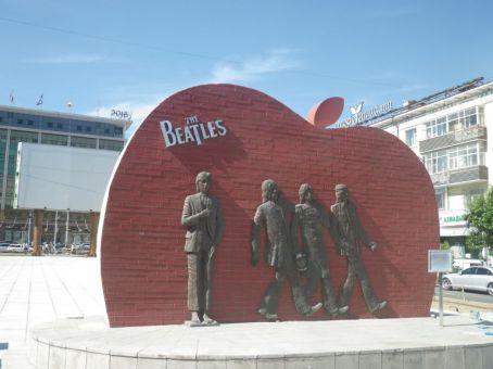Das Beatles-Monument, eine Hommage an die Beatles-Musik