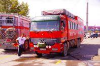 RijosReisen und Rotel mal wieder bei Mercedes in Ulan Bator
