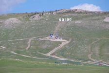 Auf der Strecke Möron/Khövsgöl über queren wir 50° Nord und 100° Ost