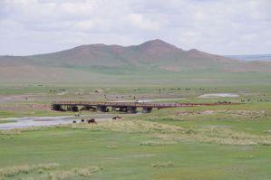 5t-Brücke heißt für uns mal wieder - Flussdurchfahrt