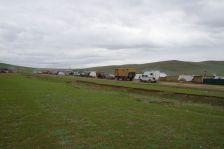 ...und sind nun an der Grenze und am Schluss unserer Mongolei-Touren.