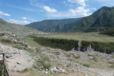 Im Altai-Gebirge bei...